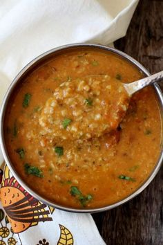 Urad dal recipe a tasty, high protein, North Indian style split black gram preparation served with rice, roti and parathas. #dal #protein #indian food