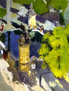 thunderstruck9:  Joaquín Sorolla (Spanish, 1863-1923), Fountain...