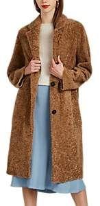 Barneys New York Women's Shearling Long Coat-Lt. Shearling Coat, Fur Coat, Ladies Coat Design, Autumn Fashion Casual, Barneys New York, Fur Jacket, Buy Dress, Designing Women, Coats For Women