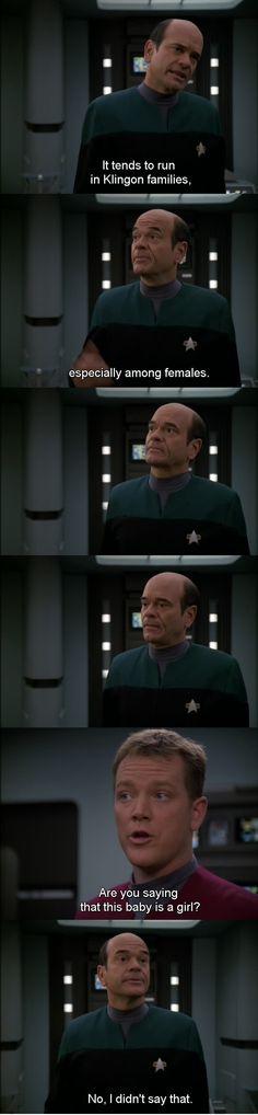 Star trek Voyager.  the doctor
