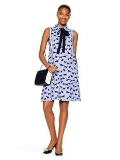 cats and cream tiered dress - kate spade new york