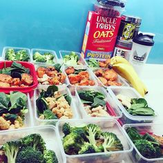 Meal Prep down pat!  #Repost @millzboulden  And you wouldn't believe this is my consumption for 3 days only ...  keeping on track is SO much easier when you're ORGANISED  Just get it done .. 6 weeks from vegas and counting !!    #mealprep #mealprepsunday #compprep #Nutritionsystems #cellucor #c4 #prosupps #amino #preworkout #bikinicompetitor #bikinimodel by nutritionsystems