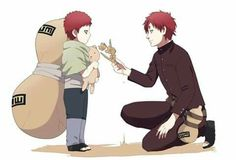 Naruto | Little and Older Gaara