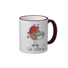 """Coffee humor design featuring a stick figure coffee bean about to have his first cup of coffee for the day! Coffee humor T-shirts, cards, mugs, tote bags, aprons, mousepads, and other items featuring a coffee bean and text that reads """"Got Coffee?"""". #stick #figures #coffee #coffee #bean #customizedfunny #coffee #coffee #humor #love #coffee #coffee #addict #got #coffee #morning #coffee #java #stick #figure #unioneight #peacockcards #stick #peoplecoffee #humor #humorous #coffee #coffee #design…"""