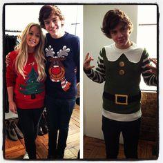 Harold looking festive