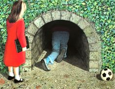 The Tunnel by Anthony Browne. This story terrified me as a kid.