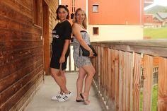 """""""Ladies Black & white"""" Sienna Lou #robe 12€ #combishort 7€ #babou"""