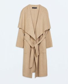 LONG COAT - Outerwear - WOMAN | ZARA Czech Republic