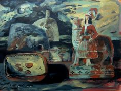 """The Welsh Shepherdess"" by Clive HicksJenkins, 2001"