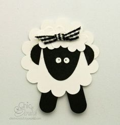 It's Timmy Time! SU punches used to make this adorable lamb! Paper Punch Art, Punch Art Cards, Sheep Cards, Timmy Time, Cute Sheep, Craft Punches, Owl Punch, Sunday School Crafts, Animal Cards