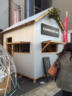 COMMUNE246@青山 Food Court, Kiosk, Shed, Outdoor Structures, Concept, Coffee, Inspiration, Ideas, Kaffee