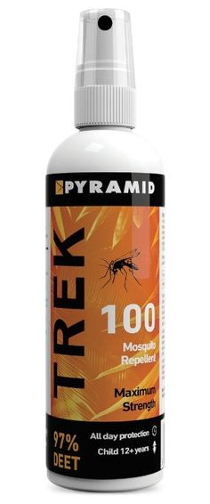 Pyramid Trek 100 (formerly Repel 100) Insect/Mosquito Repellent DEET Spray - 120ml. £9 (x2)