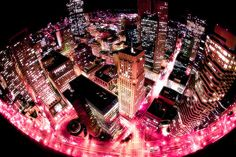 These streets will make you feel brand new. Bright lights will inspire you. <3