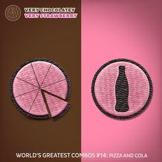 Another combo that makes you go mmm...slurp...mmm...slurp... #VeryChocolatey #VeryStrawberry