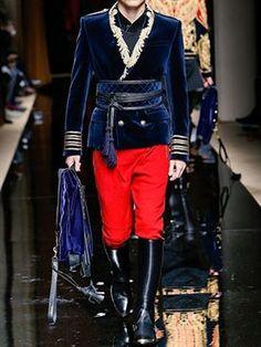 balmain - hombre - chaquetas - chaqueta de terciopelo con bordados