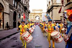 In Florence the New Year is celebrated twice: on January 1st, along with the rest of the world, but also on March 25.  #Florence #Tuscany #Italy