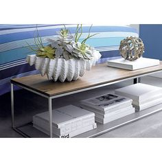 Perfect Frame Small Coffee Table In Side, Coffee Tables | Crate And Barrel