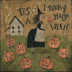 Nice Halloween Painting