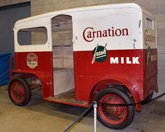 Carnation Milk Delivery Truck by Barry Wallis, via Flickr