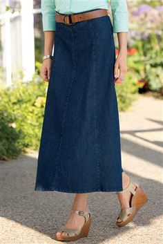 The Rainbow Denim Skirt is here, plus Memorial Day Sale! | Modesty ...