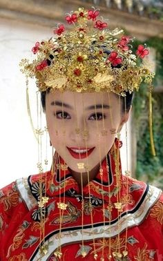 Traditional Chinese Bride..