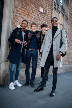 Street Style Sneakers: Milan Men's Fashion Week http://footwearnews.com/gallery/street-style-sneakers-milan-mens-fashion-week-2016-photos/