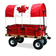 When nothing but the best will do, your kids can ride and play in comfort with this Deluxe Classic Red Wooden Wagon! This Millside Deluxe Classic Red Wooden Wagon, which...