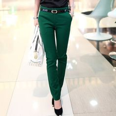 Trousers for women Spring-Autumn New Office Lady Women's pants female Fashion Haren Pencil Pants Ladies Casual Trousers #Affiliate