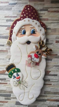 Christmas Crafts Sewing, Sewing Crafts, Sewing Projects, Christmas Ornaments, Gourds, Felt Crafts, Holiday Decor, Fifa, Home Decor