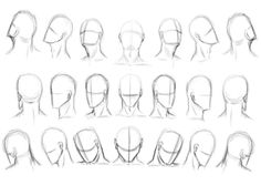 Drawing tutorial Faces face head drawing learn how to draw.