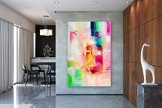 Items similar to Large Modern Wall Art Painting,Large Abstract wall art,texture art painting,abstract originals,bathroom wall art on Etsy Large Abstract Wall Art, Large Painting, Painting Abstract, Painting Art, Bright Paintings, Unique Paintings, Art Paintings, Extra Large Wall Art, Large Art