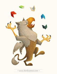 From Art of Charles Santoso, Illustration Series, Kinokuniya Bookstore 2011