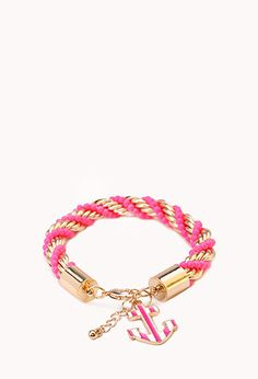 Off The Coast Twisted Bracelet | FOREVER 21 - 1000073635
