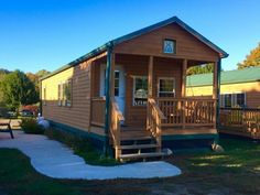 KOA Camping Cabins -- Deluxe cabins at the KOA Mystic CT