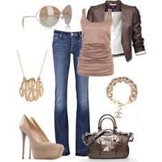 Casual Chic, created by verydefinitely on Polyvore
