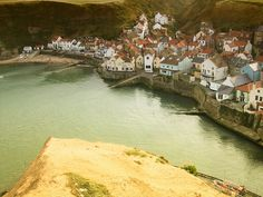 Staithes by gooseuk7, via Flickr Yorkshire England, North Yorkshire, Northern England, North Sea, Amazing Pictures, East Coast, Pond, Illustrations, Explore