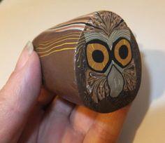 Polymer Clay Owl Cane