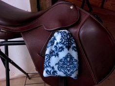 English Saddle Horse Tack Stirrup Iron Fleece by Equestrianflair, $16.00