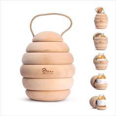 Sweet Symbolic Branding : Helt Honey Packaging