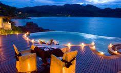 7 piscinas de hotel que son más bonitas de noche