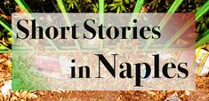 Short Stories in Naples – Words like trees One Cafe, Write To Me, I'm Afraid, My Journal, Naples, Looking Back, Short Stories, Universe, Trees