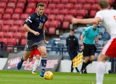 Queen's Park's Jack Iredale in action during the SPFL League One game between Queen's Park and Raith Rovers.