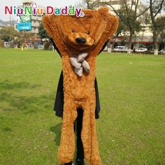 """14.73$  Watch here - http://alio17.shopchina.info/go.php?t=1328481427 - """"Niuniu Daddy 140cm/55"""""""" inch Semi-finished products teddy bear skin,Plush Bear Skin,Plush Toys 5 color can choose,Free Shipping"""" 14.73$ #aliexpresschina"""
