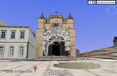 Modelação 3D da Igreja de Santa Cruz - Panteão Nacional, Coimbra.  Pode encontrar este nosso trabalho na camada earth do google maps.