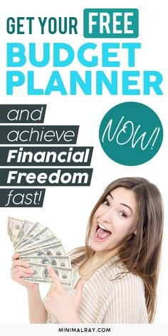 The first step to reaching financial independence is keeping a budget plan. Get your free Budget Planner, save money, and start your journey to financial independence. Investing Money, Saving Money, Saving Tips, Living Below Your Means, Financial Stability, Financial Literacy, Budget Planner, Money Management, Money Tips