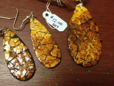 Diy Jewelry, Jewelery, Unique Jewelry, Eggshell Mosaic, Nature Crafts, Egg Shells, Earring Set, Diy And Crafts, Alcohol