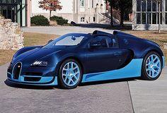 Bugatti Veyron Grandsport Visette Blue