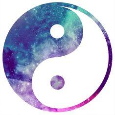 Image result for galaxy yin yang