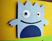 Little Monster Party Invitation