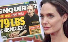 38 kilos: Inquiete ela extreme delgadez de Angelina Jolie